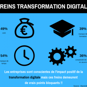 Quels sont les freins de la transformation digitale ?